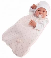 Кукла-младенец Кармела в розовом, 42 см (Munecas Antonio, 5002P)