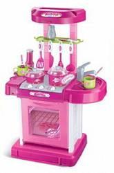 Игровой набор — Кухня с аксессуарами, световые и звуковые эффекты (B928049sim)