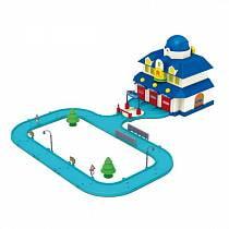 Детский игровой набор Штаб квартира Robocar Poli и вертолет Хэли (Poli, 83156)