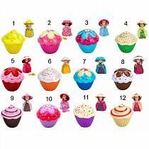 Кукла-кекс, новая волна, 12 видов (Emway Singapore Pte.Ltd, 1091_Cupcake)