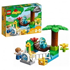 Конструктор Lego Duplo - Jurassic World Парк динозавров (Lego, 10879)