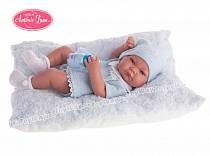 Кукла-младенец Нико, мальчик, в голубом, 42 см. (Antonio Juan Munecas, 5053B)
