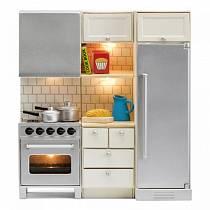 Набор мебели для домика из серии Смоланд - Кухня с холодильником и плитой (Lundby, LB_60209500)