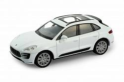 Модель машины 1:34-39 Porsche Macan Turbo (Welly, 43673) - миниатюра