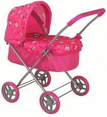 Классическая коляска для кукол, с капюшоном (Buggy Boom Mixy, 8015)