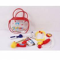 Набор доктора, 11 предметов, в сумке (Junfa Toys, 501-1)