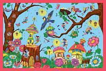 Раскраска-плакат с игровыми заданиями – Страна фей (Айрис-пресс, 26203АП)