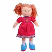 Кукла Варенька в вельветовом платье музыкальная 22 см (Lava, Л961А)