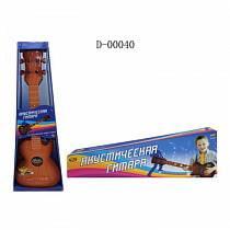 Гитара акустическая коричневая, со световыми эффектами (ABtoys, D-00040)