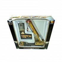 Металлическая машина – Спецтехника - Подъемный кран, 1:55 (Abtoys, C-00149)