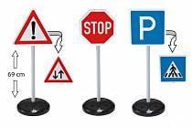 Big-Traffic-Signs - игрушечные дорожные знаки, высота 69 см. (Big, 1199)