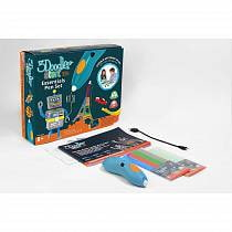 3Д Ручка 3doodler Start, базовый набор E-Comm (Wobble Works HY Limited, 3DS-ESST-TNG-E)
