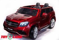 Электромобиль Mercedes-Benz GLS63 AMG, красного цвета (ToyLand, HL228 К)