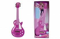 Детская рок-гитара, розовая (Simba, 6830693)