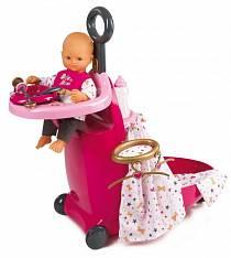 Набор для сна и купания пупса в чемодане из серии Baby Nurse (Smoby, 220316)