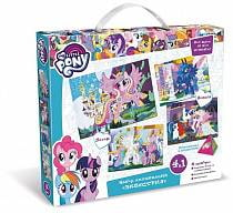 Набор аппликаций 4 в 1. My little pony™ - Эквестрия (Origami, 03199-OR)