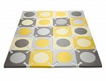 Напольный коврик, золото/серый (Skip Hop, SH 245011veg)