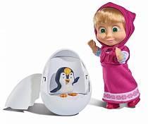 Кукла Маша с пингвиненком в яйце, 12 см (Simba, 9301003)