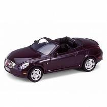Коллекционная машинка Lexus SC430, масштаб 1:34-39 (Welly, 42336)