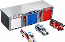 Гараж: скорая помощь, полицейская и пожарная машина (Технопарк, 2205B-Rsim)