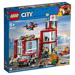 Конструктор Lego® City Fire - Пожарное депо (Lego, 60215-L)