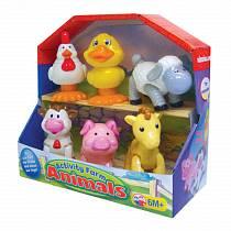 Развивающая игрушка - Домашние животные (Kiddieland, KID 041244veg)
