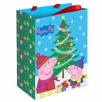 Пакет подарочный - Пеппа зимой (Росмэн, 28845ros)