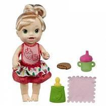 Интерактивная кукла - Удивительная малышка, BABY ALIVE (HASBRO, A7194H)