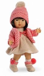 Кукла Валерия, азиатка, 28 см (Llorens Juan, S.L., L 28022veg)