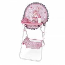 DeCuevas Складной стульчик для кормления куклы, серия Мария (DeCuevas, 53217)