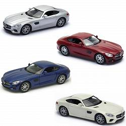 Модель машины Mercedes-Benz AMG GT, 1:34-39 (Welly, 43705) - миниатюра