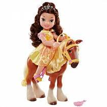 Игровой набор - кукла Принцесса Белль и конь Филипп (Disney, 220000)