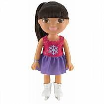 Кукла из серии Даша-путешественница - Даша на катке (Mattel, BCL63)