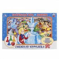 Настольная игра-ходилка: Снежная королева (Умка, 4690590118191sim)