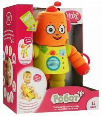 Робот со звуковыми и световыми эффектами, знакомит с частями тела (Yaki, 0117_yaki)
