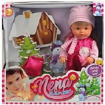 Кукла Bambolina Boutique - Baby Nena зимний набор, 36 см (Dimian, BD381)