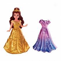 Кукла Белль из серии «Принцессы Дисней» с дополнительным нарядом (Mattel, chd27-x9404)