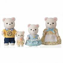 Sylvanian Families - Семья белых медведей (Epoch, 5183st)