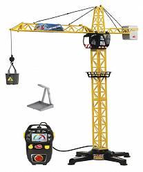 Кран башенный с пультом управления, высота 100 см. (Dickie, 3462411)