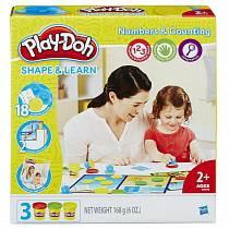 Игровой набор Play-Doh - Цифры и числа (Hasbro, B3406)