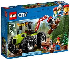 Конструктор Lego City - Лесной трактор City Great Vehicles (Lego, 60181-L)