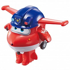 Мини-трансформер Джетт, команда Полиции, ТМ Super Wings (Auldey Toys, EU730031)