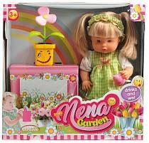 Кукла из серии Baby Nena с цветком, 36 см. (Dimian, BD386)
