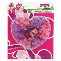 Набор бисера из серии My Little Pony в сердце, более 230 деталей (Multiart, 22308-MLPsim)