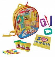 Набор Play doh - Рюкзачок для творчества (D`arpeje Toys`n`fun, CPDO012)