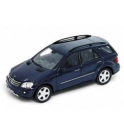 Коллекционная машинка Mercedes Benz ML350, масштаб 1:34-39 (Welly, 42389) - миниатюра