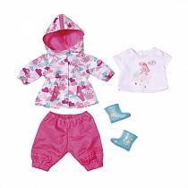 Одежда для дождливой погоды для куклы из серии Baby born (Zapf Creation, 823-781)