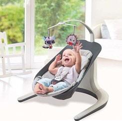 купить детский шезлонг с вибрацией для новорожденного или кресло