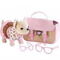 Собачка игрушечная Chi-Chi Love плюшевая с аксессуарами (Simba, 5894837)