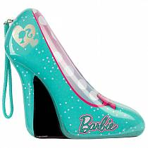 Набор детской декоративной косметики из серии Barbie, в зеленой туфельке (Markwins, 9600651)